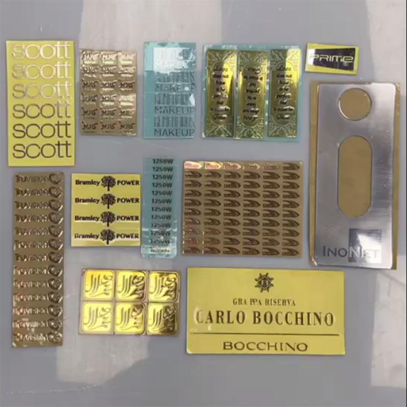 Custom Electroforming Nickel Sticker