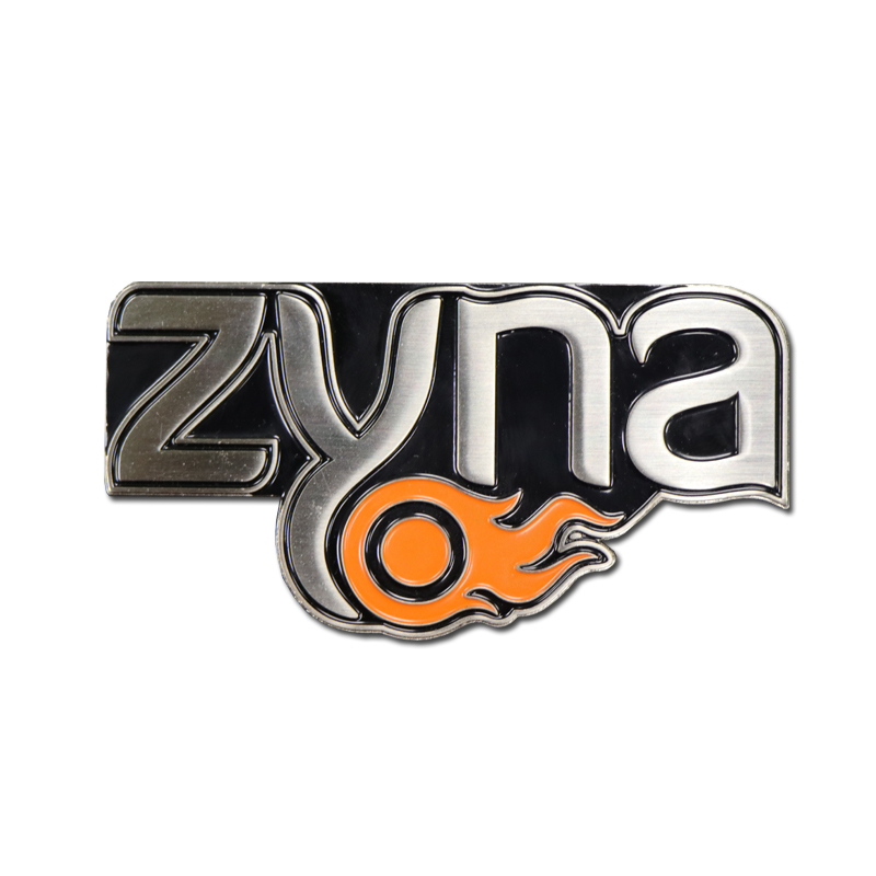 Zinc Alloy Logo Name Plate