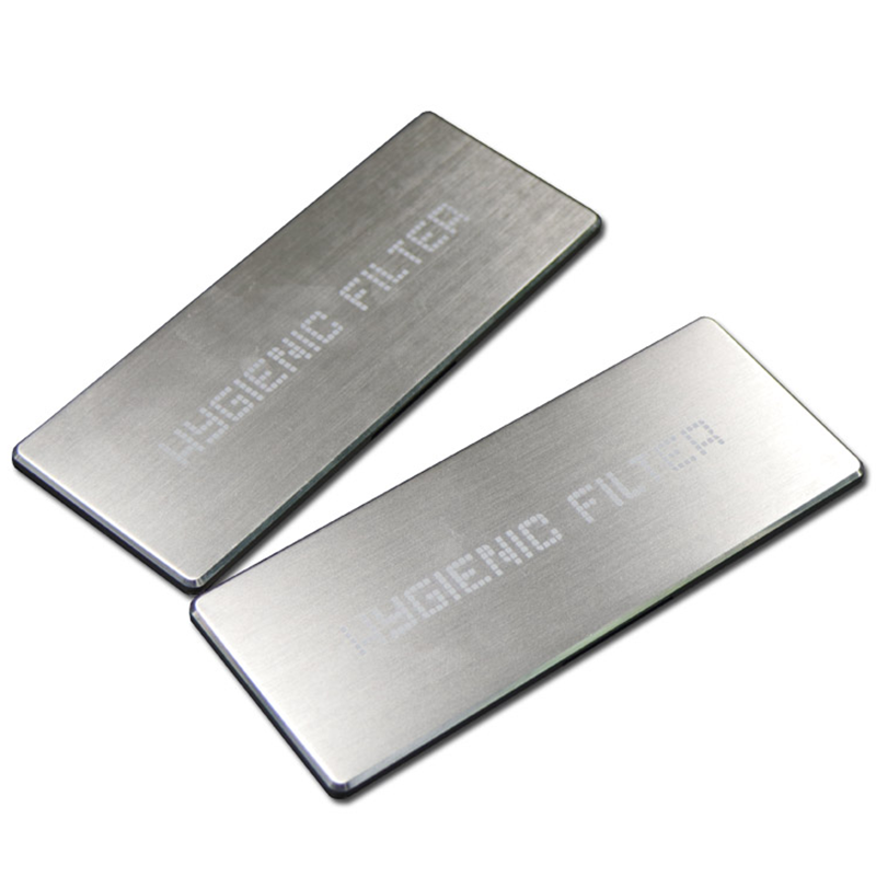 Custom Laser Logo Stainless Steel Nameplate