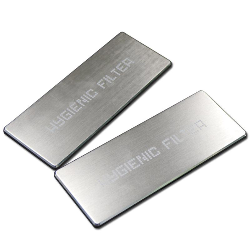 Custom Laser Logo aluminum  name plate