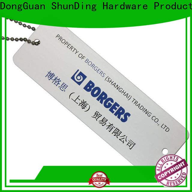 fine- quality metal luggage tags sandblasted type for souvenir
