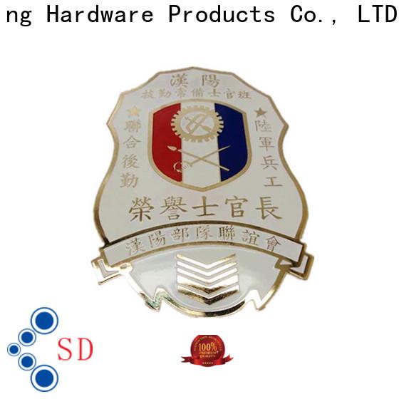 ShunDing lovely personalised metal badges type for meeting