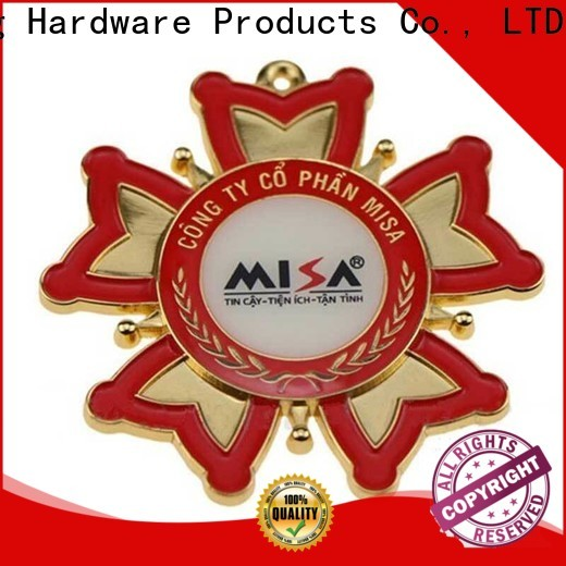 advanced metal badge manufacturers badge type for company