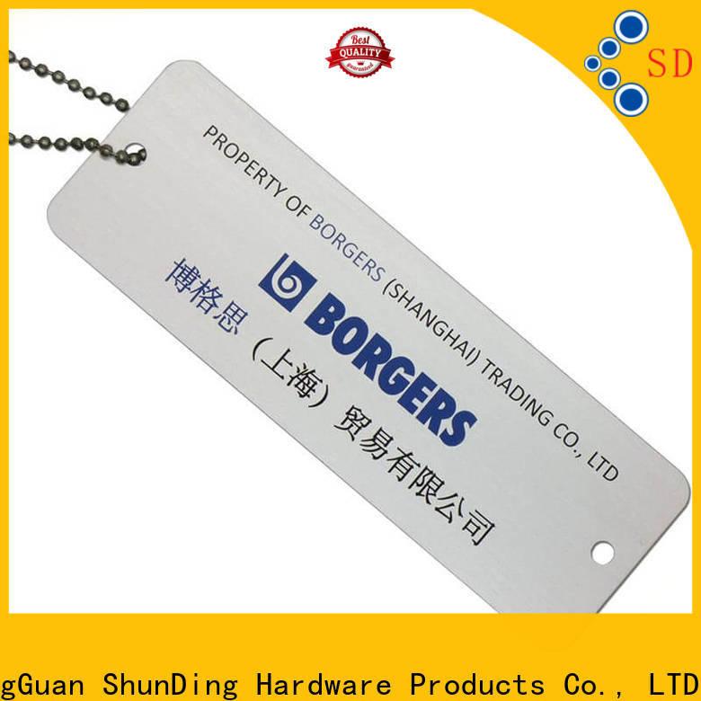 ShunDing garment key tag type for commendation