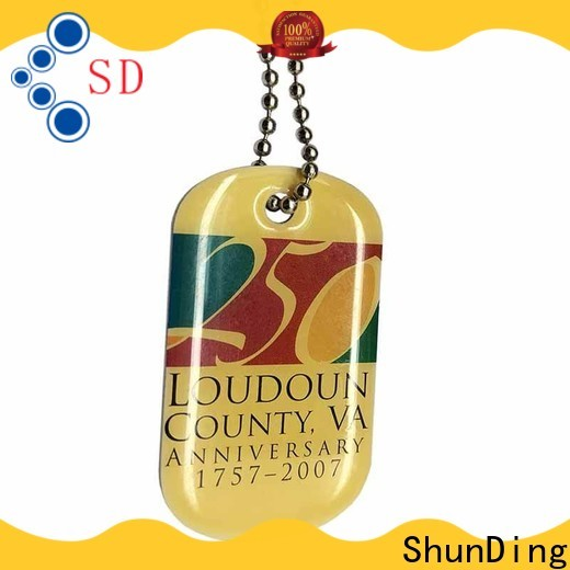 quality engraved metal tags metal cost for souvenir