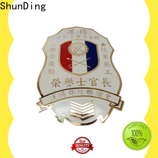 ShunDing fine- quality metal badge manufacturers for meeting