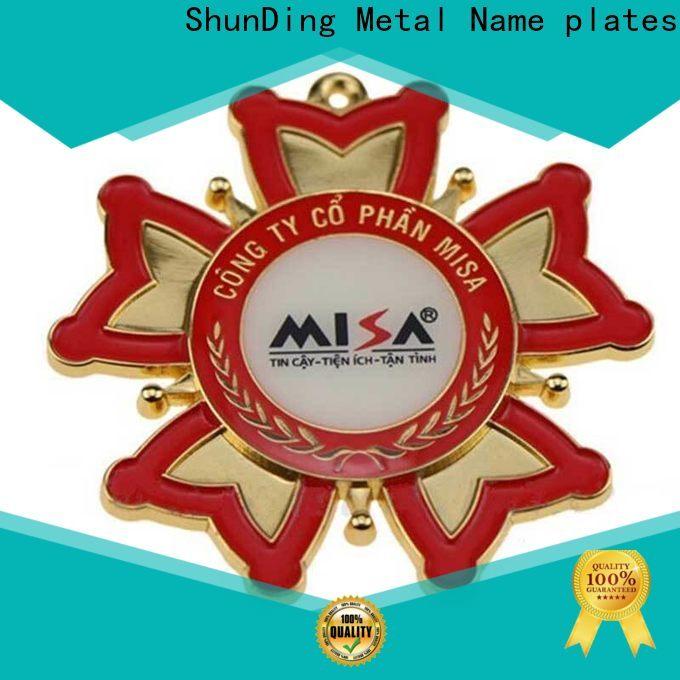 ShunDing fine- quality metal medal marketing for identification
