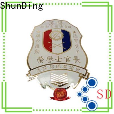 fine- quality personalised metal badges medal price for company