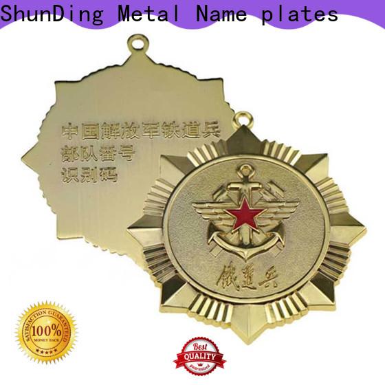 ShunDing advanced custom metal medal supplier for souvenir