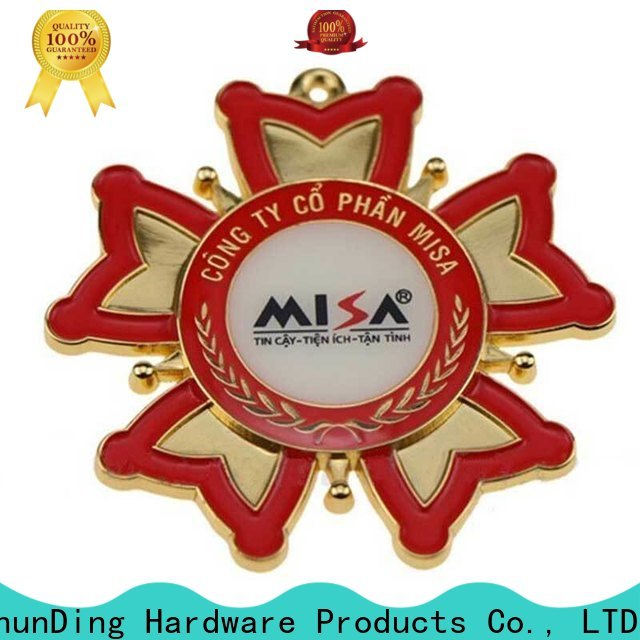 ShunDing pin personalised metal badges owner for company