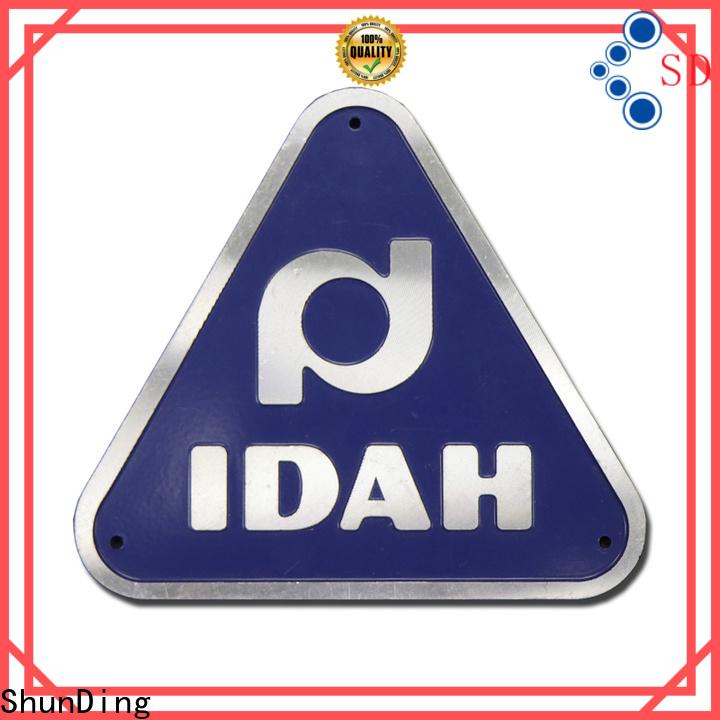ShunDing office name plates supply for activist