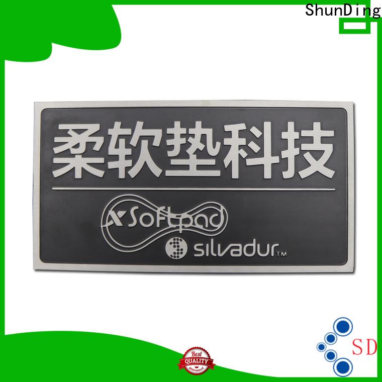 ShunDing engraved name plates vendor for activist