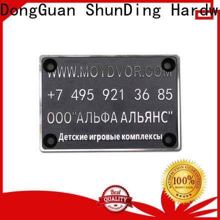 first-rate steel name plates certifications for staff