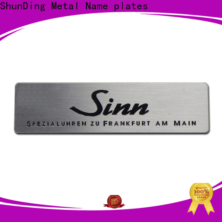 durable brass name tags with good price for company