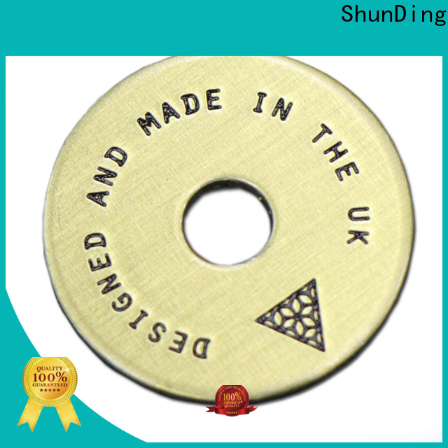 ShunDing trophy engraving plates by Chinese manufaturer for meeting