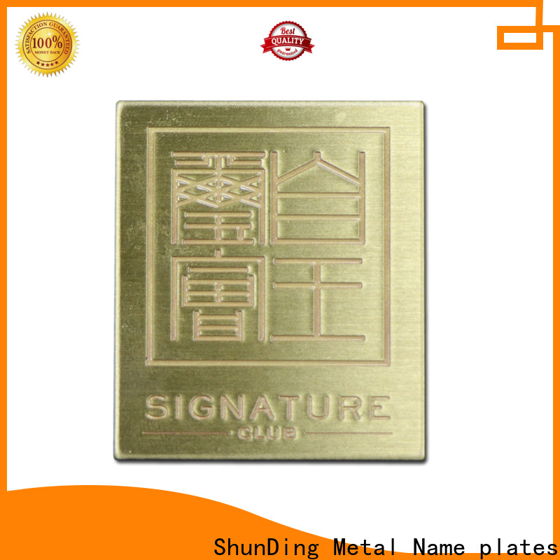 durable engraved plaque plates directly sale for company