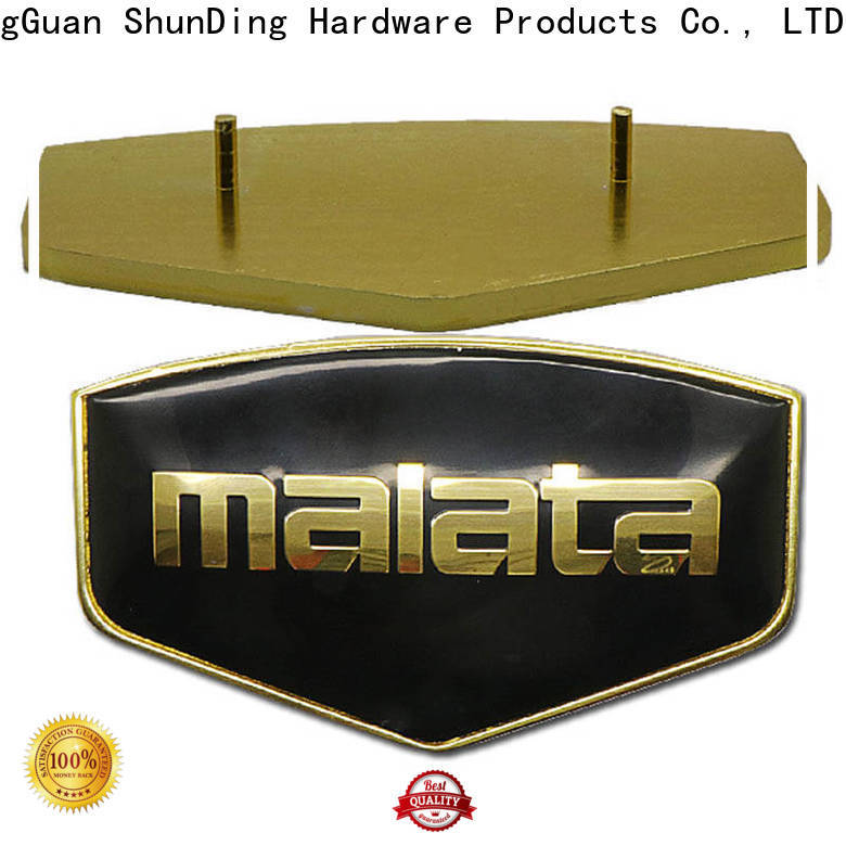 ShunDing metal name plates supplier for meeting