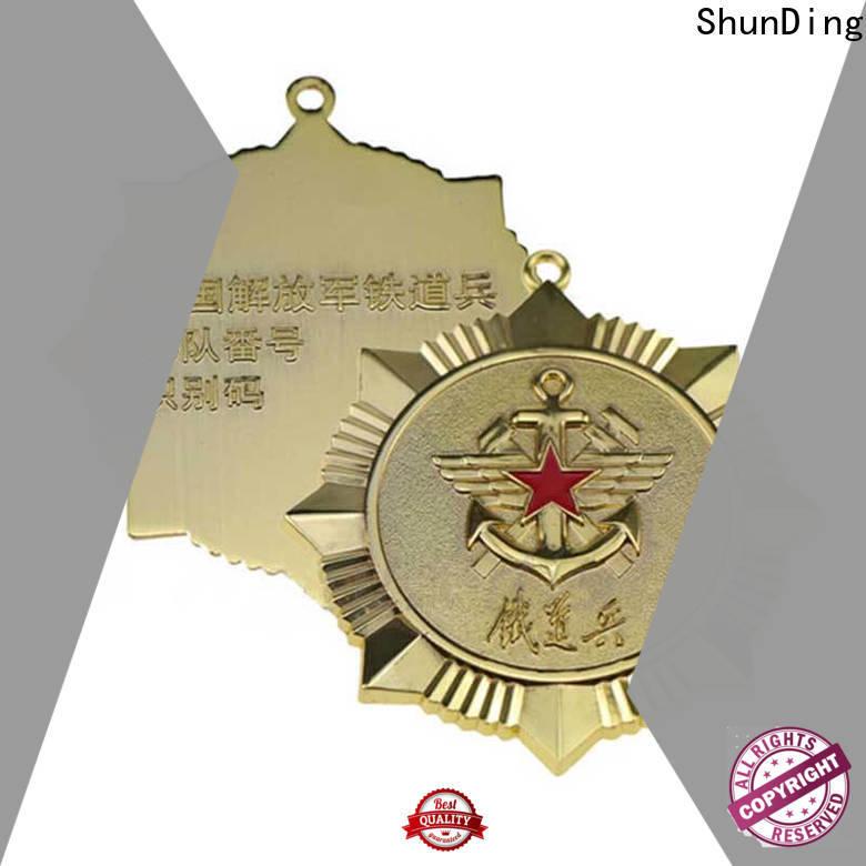 ShunDing diecasting badge metal supplier for souvenir