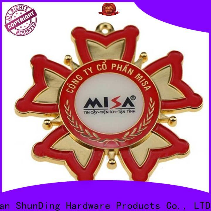 ShunDing fashion metal badge manufacturers for-sale for commendation