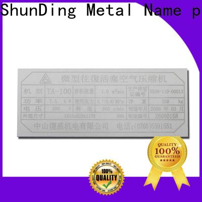 ShunDing office name plates supply for souvenir