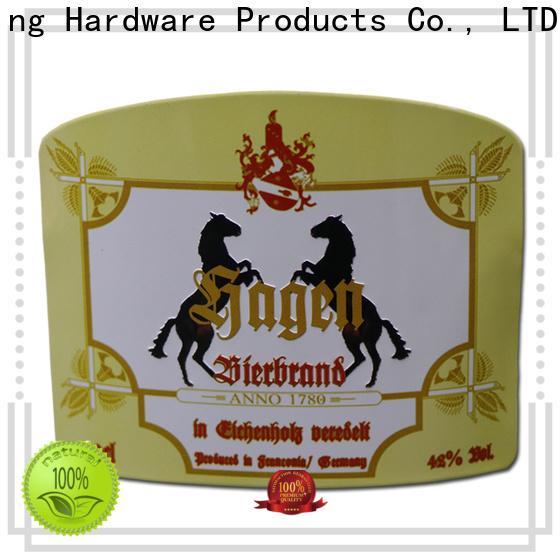 ShunDing bottle labels certifications for souvenir