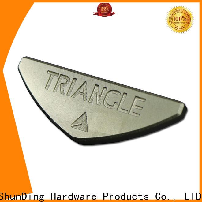 ShunDing effective custom name plates producer for staff