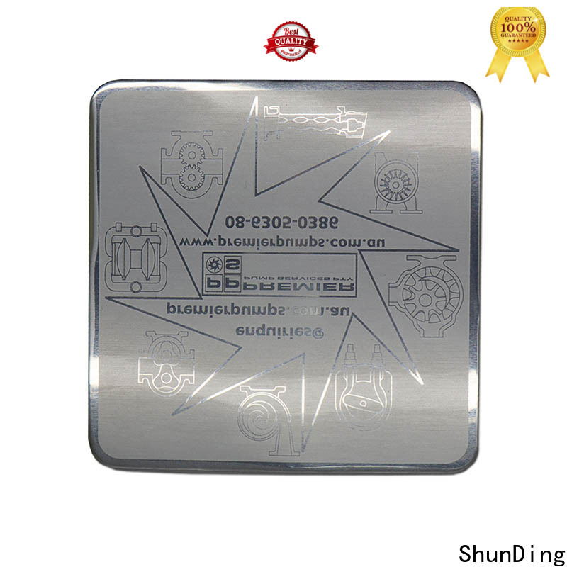 ShunDing stable stickers for glass bottles certifications for auction