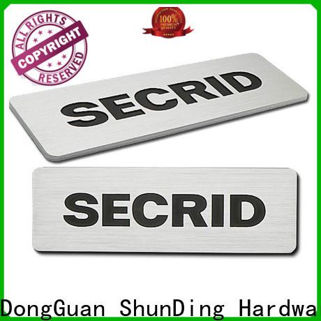 ShunDing quality custom labels certifications for activist