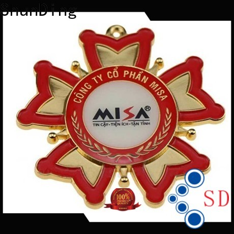 ShunDing nameplate name plaques from China for commendation