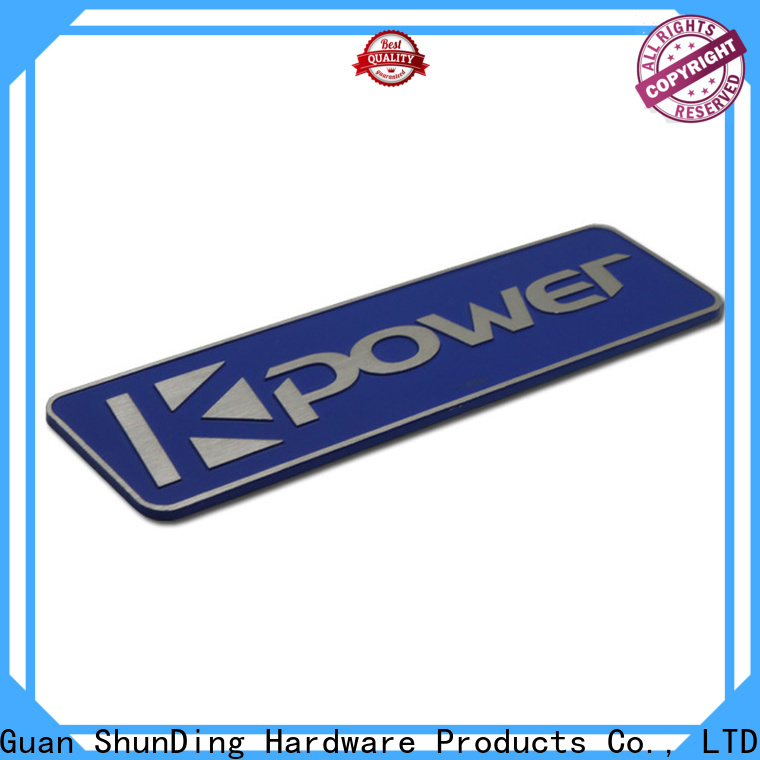 quality stainless steel name plates producer for staff