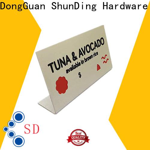 ShunDing useful steel name plates vendor for company