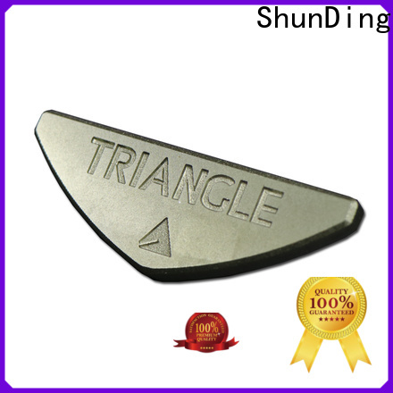 ShunDing metal engraved name plates certifications for staff