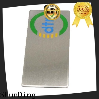 high-quality custom metal plates with cheap price for company