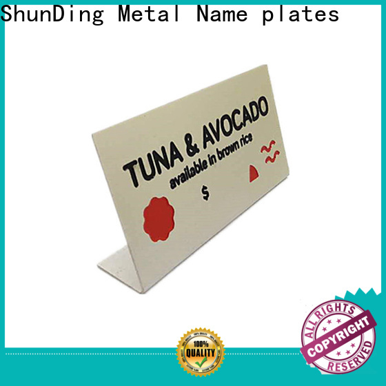 advanced brass name plates manufacturer for staff
