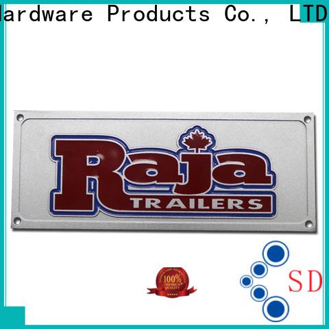 ShunDing fashion plaque engraving vendor for identification