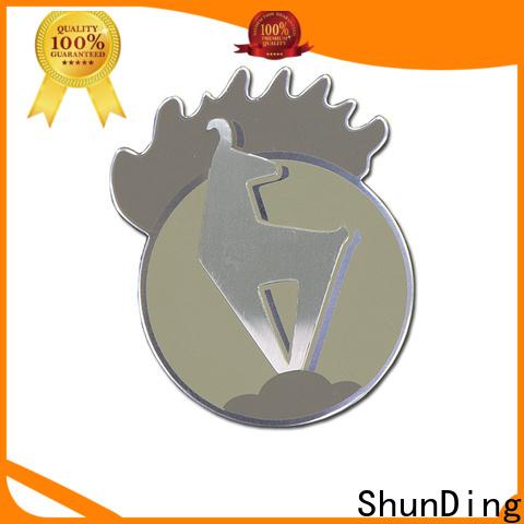 ShunDing metal name plates vendor for identification