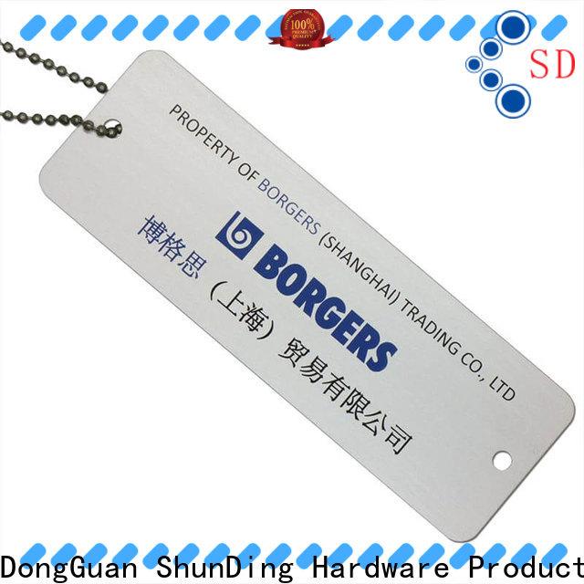 ShunDing diamondcutting key tag price for auction