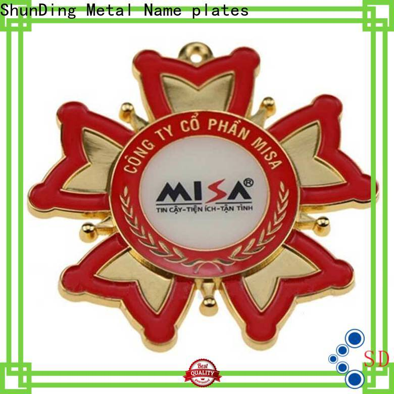 ShunDing 3d desk name plaques with cheap price for meeting
