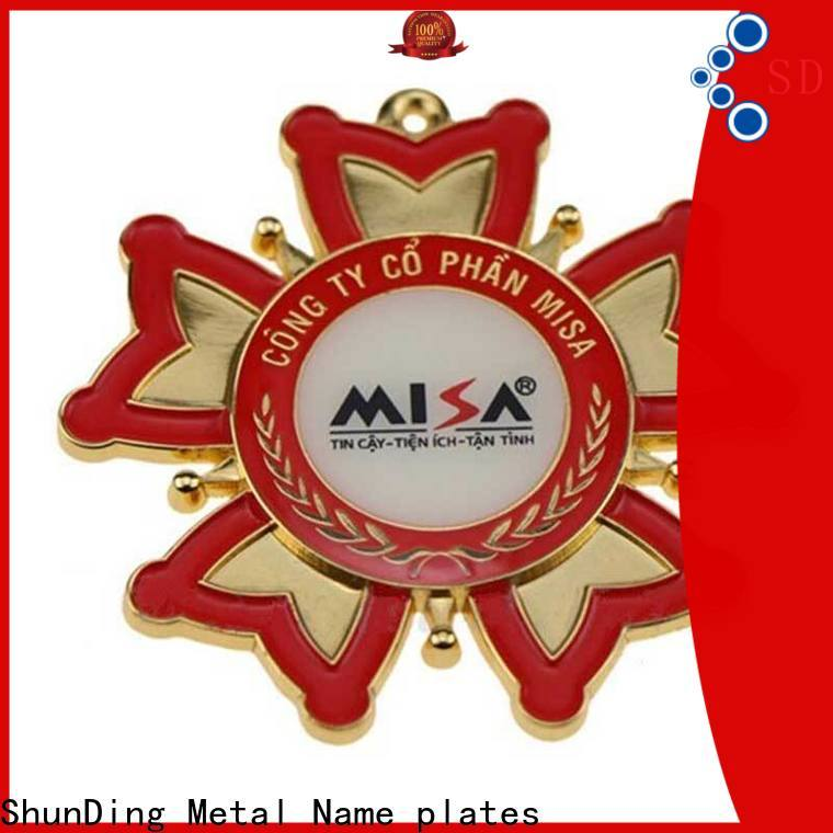 fashion metal plate sticker metal China Factory for auction