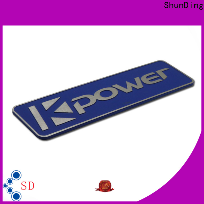 advanced aluminum nameplate certifications for meeting