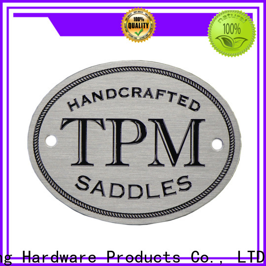 ShunDing custom metal labels with cheap price for activist