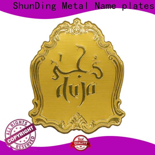 ShunDing metal perfume sticker China Factory for souvenir