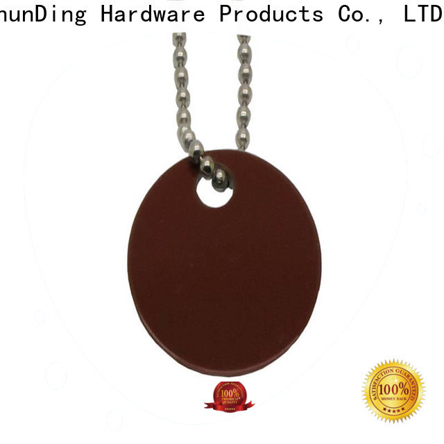 ShunDing chain metal tags price for meeting