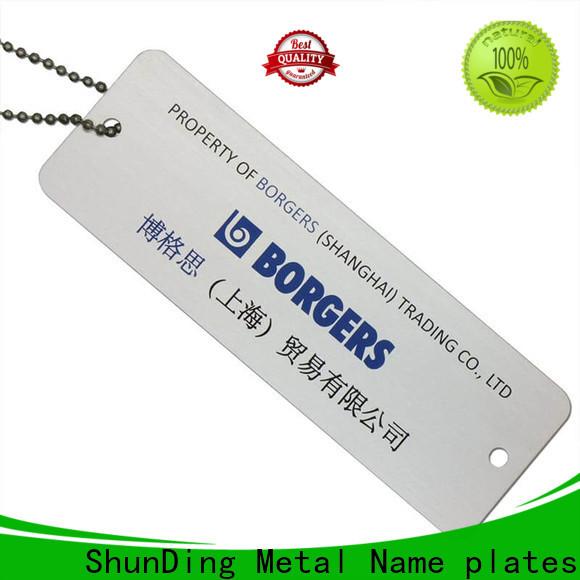 ShunDing diamondcutting brand tag free design for activist