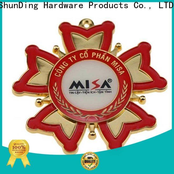 ShunDing plate custom metal logo badges experts for identification