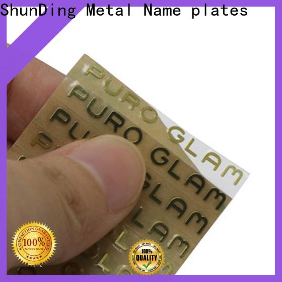ShunDing mountain stickers with cheap price for souvenir