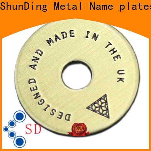 ShunDing plaque name plates with good price for staff