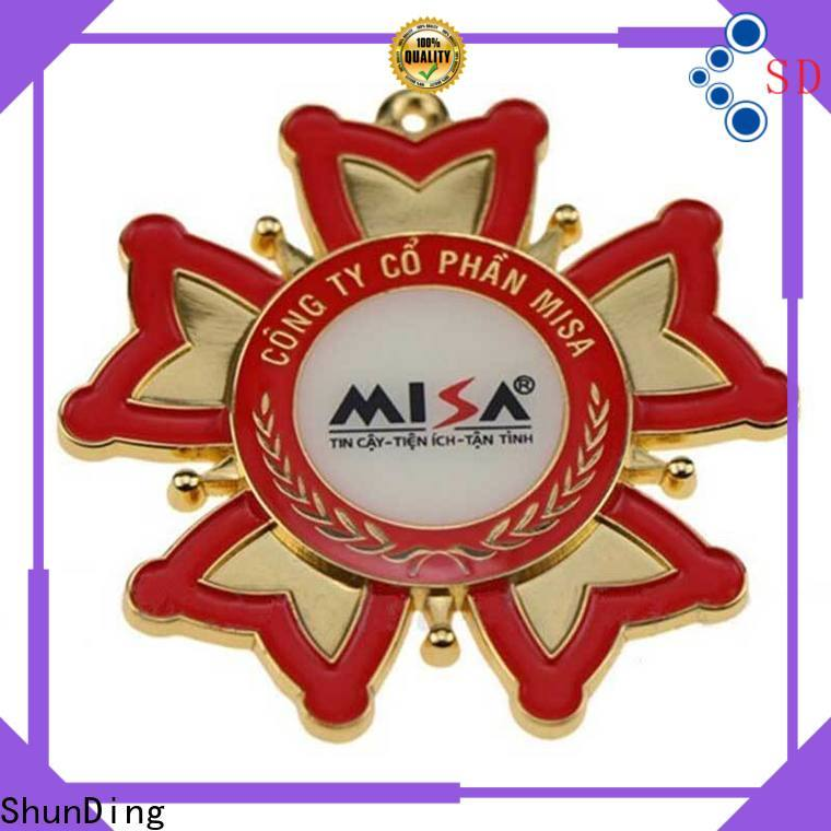 quality metal badge adhesive for-sale for souvenir