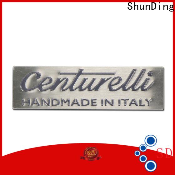 ShunDing custom metal plates factory price for commendation