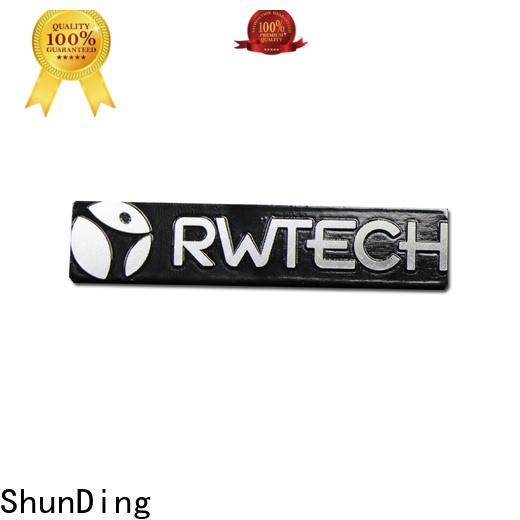 ShunDing magnificent metal labels supplier for souvenir